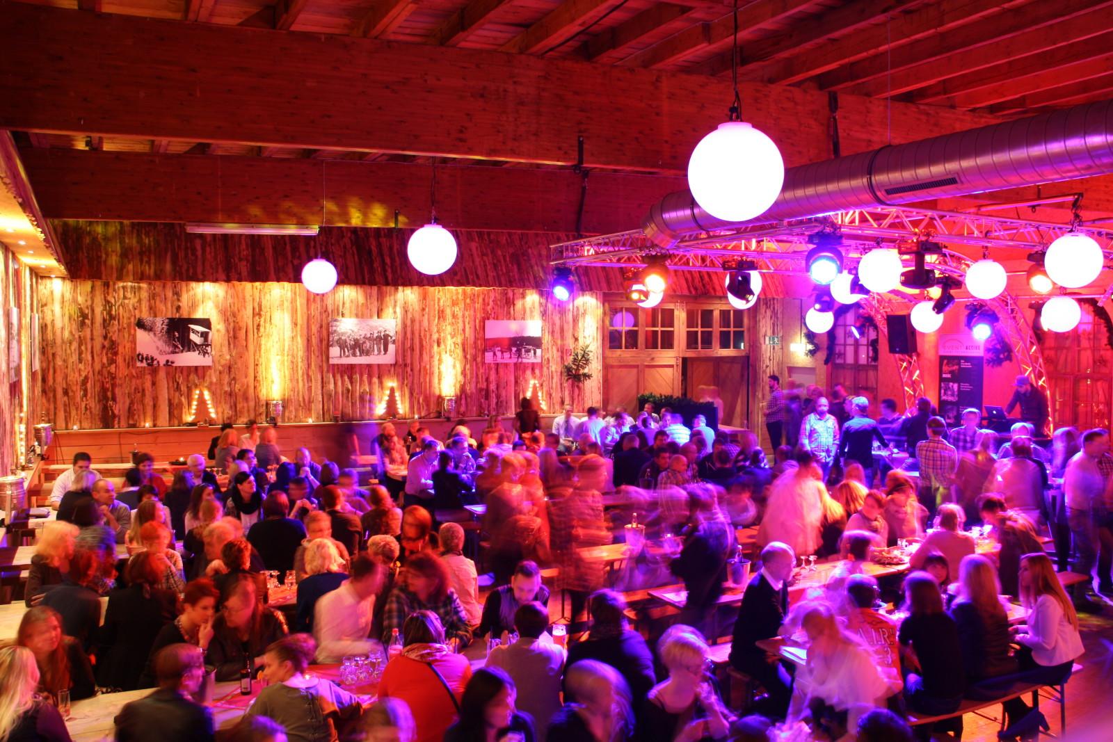 Weihnachtsfeiern im alten Sägewerk Schmallenberg