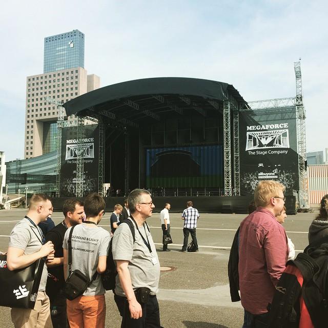 Heute auf der Prolight & Sound Frankfurt
